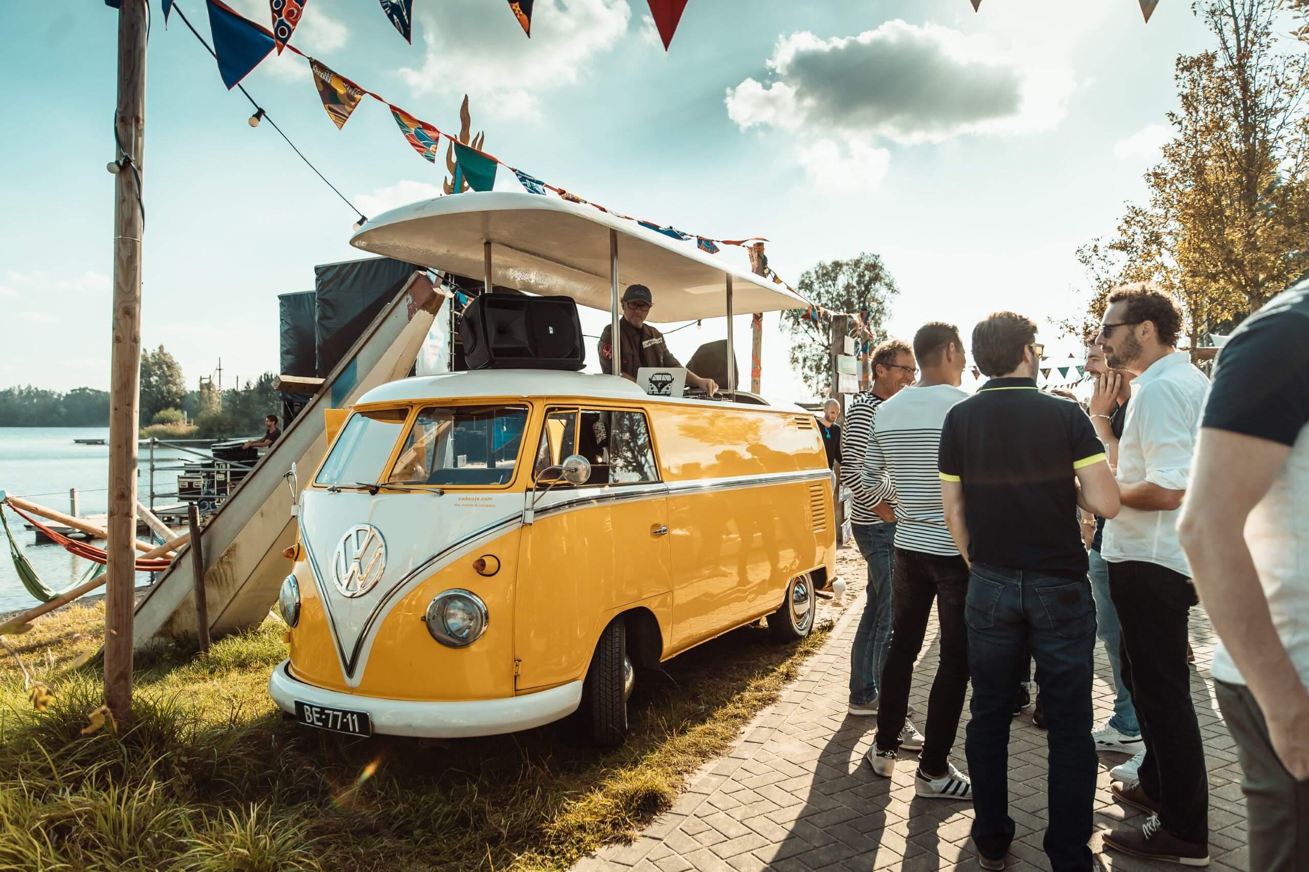 Bedrijfsfestival VW DJ