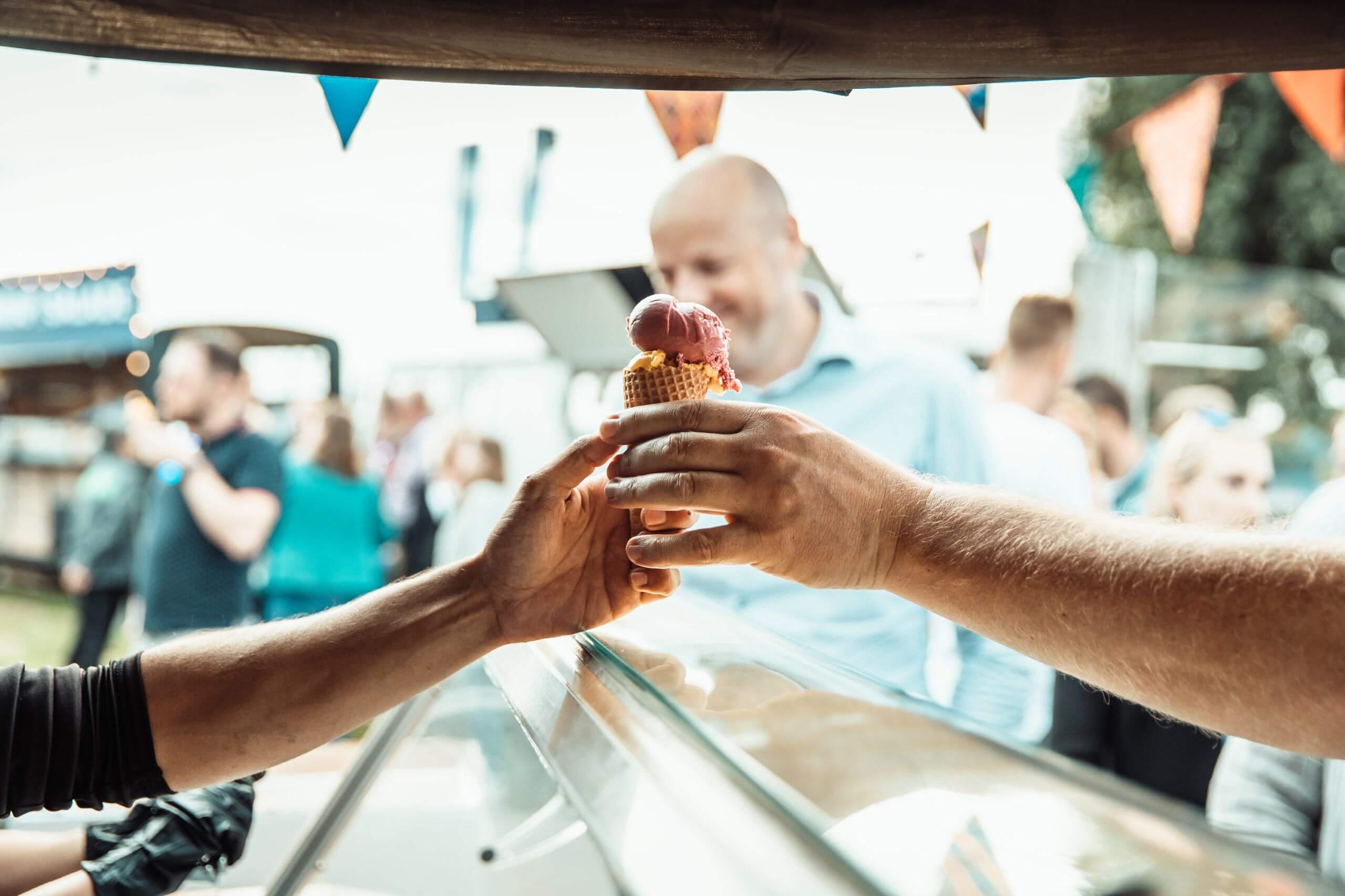 Bedrijfsfestival-ijsjes