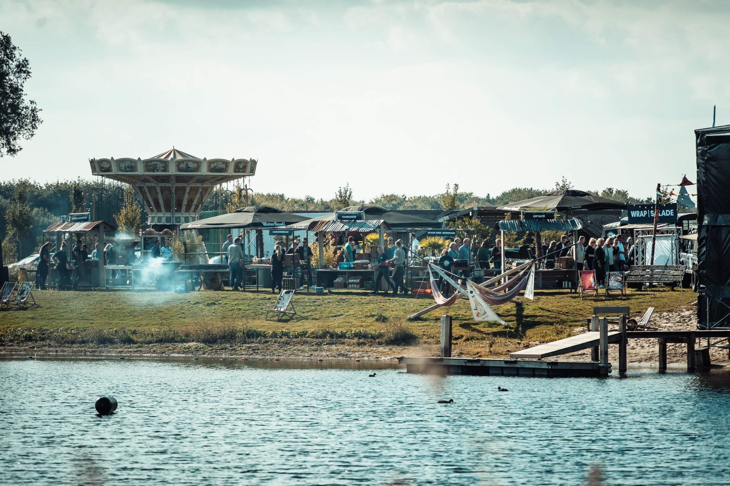 Bedrijfsfestival-vanaf het water