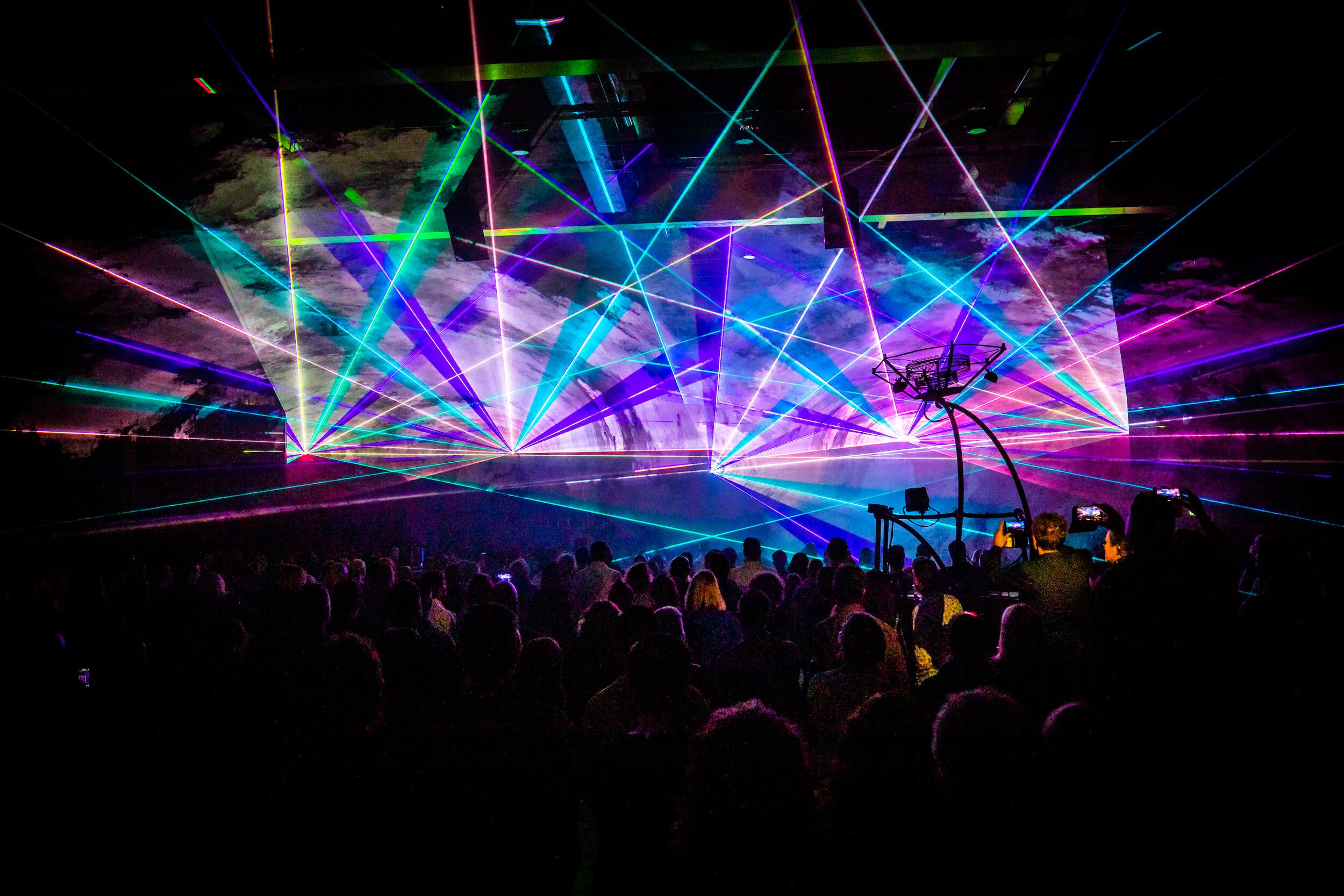 Huisstijl lancering lasershow