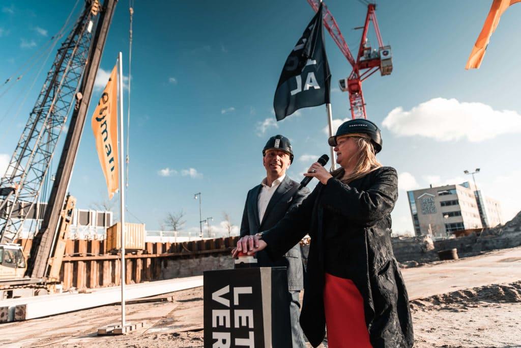 Start bouw Amsterdam Vertical
