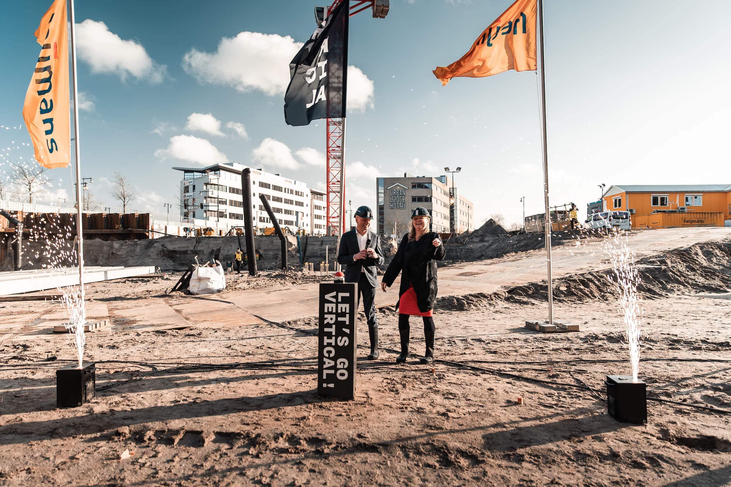 Start bouw Amsterdam Vertical bouwhandeling